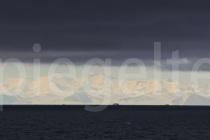 Transantarktisches Gebirge in den frühen Morgenstunden, Ross Sea, Antarktis