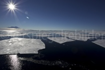Eisplatten bei New Harbour, McMurdo Sound, Antarktis