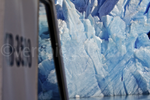 Schiffsfahrt beim Grey Gletscher, Parque Nacional Torres del Paine, Patagonien, Chile
