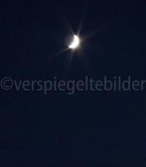 Mond über Adliswil