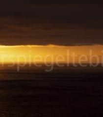 Sonnenuntergang bei Snæfelsness, Island