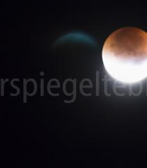 Mondfinsternis Sepetmber 2015 über Adliswil