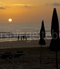 Sonnenaufgang am Strand von Corralejo, Fuerteventura
