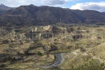 Blick von Maca über das Tal, Peru