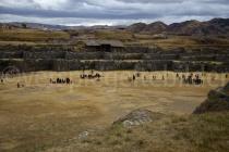 Ruinen von Sacsayhuamán, Cusco, Peru