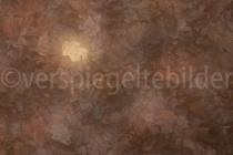Laub im Urwald Sababurg, aufgenommen mit Doppelbelichtung und verschobenem Fokus