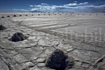 Blick über den Salzsee Salar de Uyuni