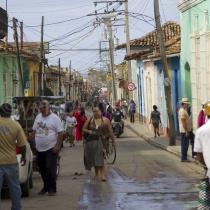 Strasse in Trinidad auf Kuba