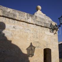 Castell von Havanna im Abendlicht auf Kuba