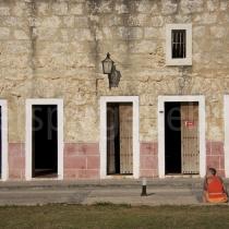 Castell im Abendlich von Havanna auf Kuba