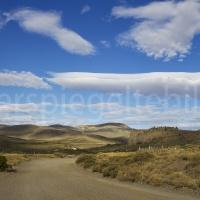 Steppenlandschaft um Bariloche in Patagonien