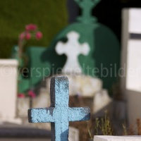 Friedhof in Punto Arenas in Patagonien