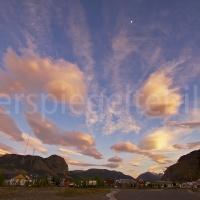 Sonnenaufgang in El Chaltén in Patagonien