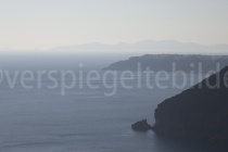 Blick über die Caldera bei Fira
