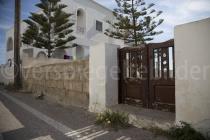 Hausmauer in Fira
