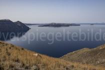 Blick auf die Caldera wischen Imerovigli und Oia