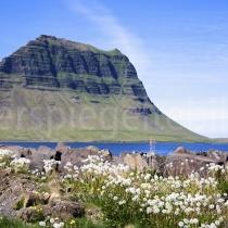 Landschaft bei Grundarfjörður