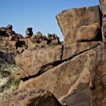 Giants Playground: Steinhaufen bei Keetmanshoop, Namibia