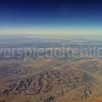 Flugbild über der Namibwüste, Namibia