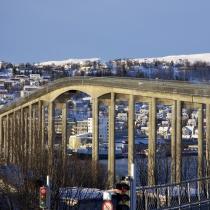 Brücke in Tromsø