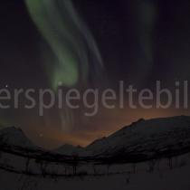 Nordlichter in der Region um Tromsø