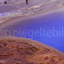 Landschaftsdetail in Selfoss, Island