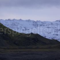 Landschaft beim Gletscher Hoffellsjökull, Island