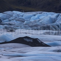Gletschersee Hoffellsjökull, Island