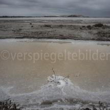 Blick über das Salzfeld bei Salin-de-Giraud