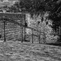 Steintreppe in Arles