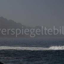 Blick auf die Küste von Puerto de las Nieves auf Gran Canaria