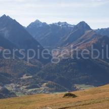 Berglandschaft oberhalb von Suol
